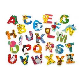Didaktické hračky - Dřevěné písmenko abecedy - 1ks