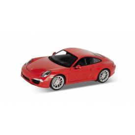 Welly - Porsche 911 Carrera 1:24 červené
