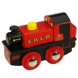 Bigjigs Rail dřevěná replika lokomotivy - EHLR Jack