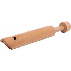 Dřevěná flétna natural - 3 ks