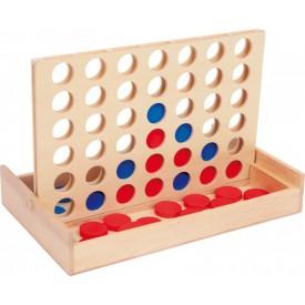 Dřevěné hry - 4 v rovině na cestě