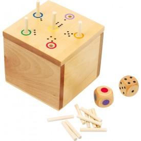 Dřevěné hračky - Hra kostka