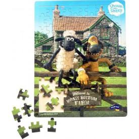 Ovečka Shaun dřevěné puzzle