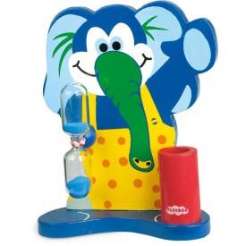 Dřevěné hračky -  Přesýpací hodiny klaun