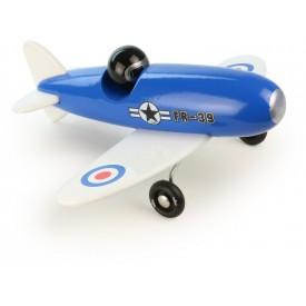 Vilac dřevěné letadlo Avion modrý jednoplošník