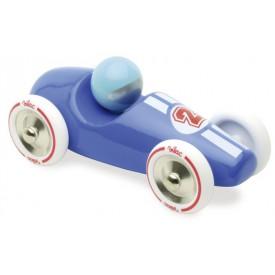 Vilac dřevěné sportovní velké auto modré