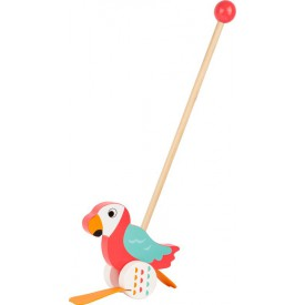 Tahací hračky - Jezdík papoušek Lori
