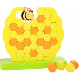 Legler Motorická balanční hračka včelí úl