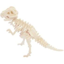 Dřevěné 3D puzzle skládačka - dinosauři Tyrannosaurus