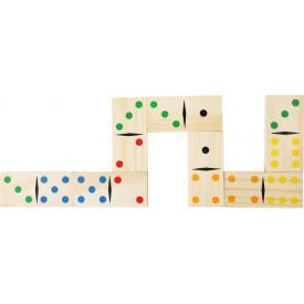 Dřevěné hračky - dřevěné hry - Obří domino