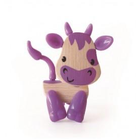 HAPE dřevěné zvířátka- Kravička