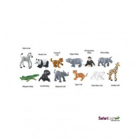 Safari Ltd - Tuba - Mláďata ze ZOO