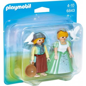 PLAYMOBIL 6843 Princezna s děvečkou
