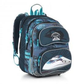 TOPGAL Školní batoh Blue CHI 865