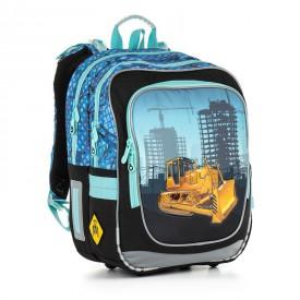 TOPGAL Školní batoh Blue CHI 877