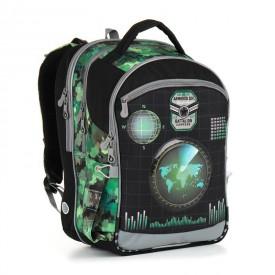 TOPGAL Školní batoh Green CHI 883