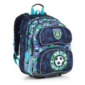 TOPGAL Školní batoh Blue CHI 884