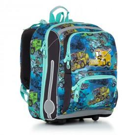 TOPGAL Školní batoh Blue CHI 885