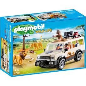 PLAYMOBIL 6798 Safari terénní auto s navijákem