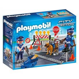 PLAYMOBIL 6924 Policejní zátaras