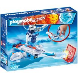PLAYMOBIL 6833 Icebot s létajícími disky