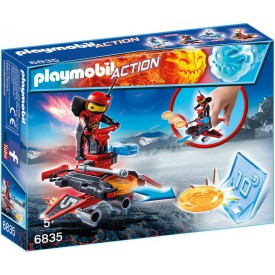 PLAYMOBIL 6835 Firebot s létajícími disky