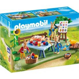 PLAYMOBIL 6863 Zajíčkova velikonoční dílna