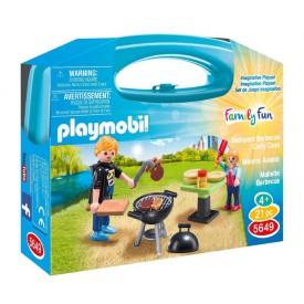 PLAYMOBIL 5649 Přenosný kufřík Zahradní grilování