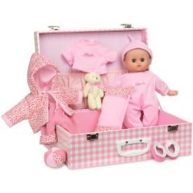 Petitcollin panenka Delia 28 cm s kufříkem