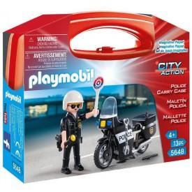 PLAYMOBIL 5648 Přenosný kufřík Policista