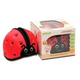 SafeheadBABY - ochranná helma - červená