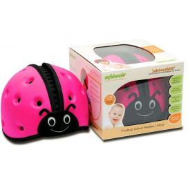 SafeheadBABY - ochranná helma - růžová
