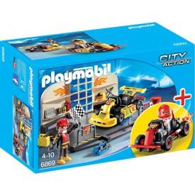 PLAYMOBIL 6869 Depo pro motokáry