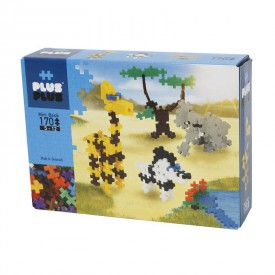 Plus-Plus Stavebnice170 Mini BASIC ZOO