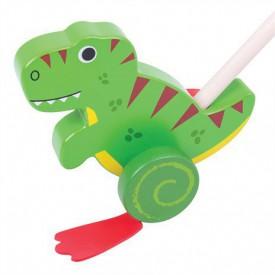 Bigjigs Toys Dřevěný jezdík T-Rex