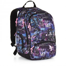 TOPGAL Studentský batoh Violet HIT 889