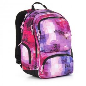 TOPGAL Studentský batoh Pink HIT 891