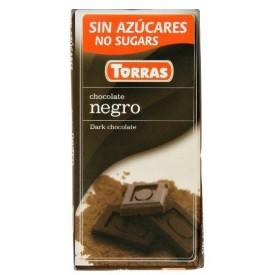 Torras Bezlepková hořká čokoláda 52% 75 g