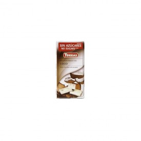 Torras Bezlepková bílá čokoláda s kokosem 75 g