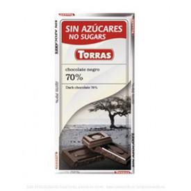 Torras Bezlepková čokoláda kakao 72 % 75 g