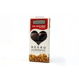 Torras Bezlepková čokoláda s mandlemi bez přidaného cukru 150 g