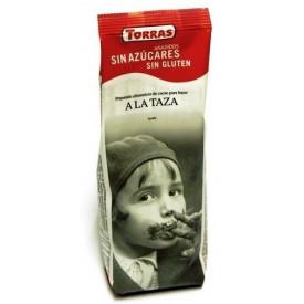 Torras ZERRO Bezlepková hořká čokoláda na vaření bez přidaného cukru 180 g