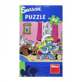 Dino Puzzle Šmoulové 60 dílků Šmoulinka se upravuje