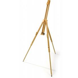 Dřevěný malířský stojan
