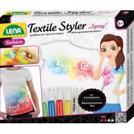 LENA Sprej na textil s šablonami