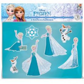 LENA Disney Ledová královna kreslící šablony