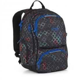 TOPGAL Studentský batoh Black HIT 887