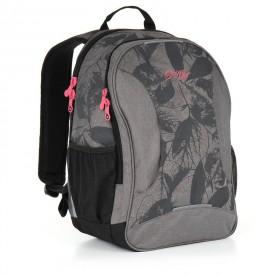 TOPGAL Studentský batoh Grey HIT 892