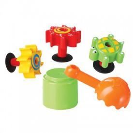 Bigjigs Toys - Mini mlýny na vodu a písek kreativní sada