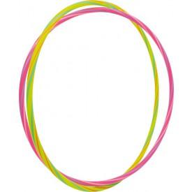 Zábavné hula hula kruhy neonové 2 ks